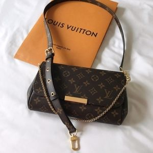 New 2019 Louis Vuitton Favorite MM w Metis Strap